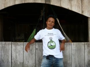Ángel Fernandez Ramos - coördinator van Painü en lokale projectuitvoerder van Project Yahuarcaca - foto