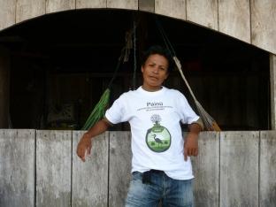 Ángel Fernandez Ramos - coordinator van Painü en lokale projectuitvoerder van Project Yahuarcaca