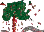 Árbol del Pez - por José da Silva - Fuente O livro das árvores, 1997