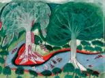Ngewane - Árbol de Pez - por Nilson Adelino João - Fuente O livro das árvores, 1997