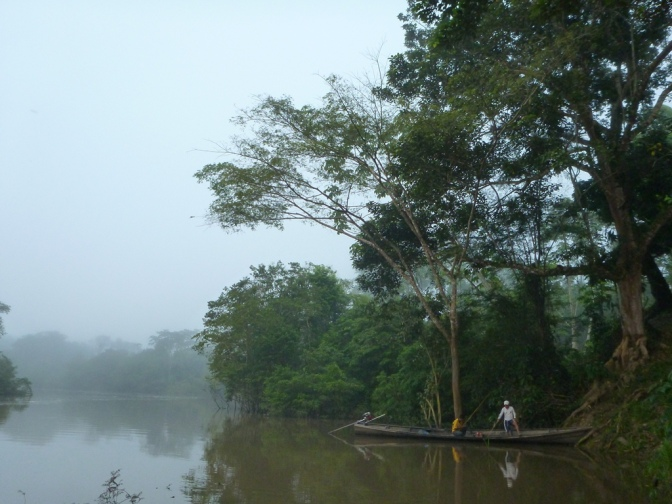 A great experience… leaving the Amazon for the first time