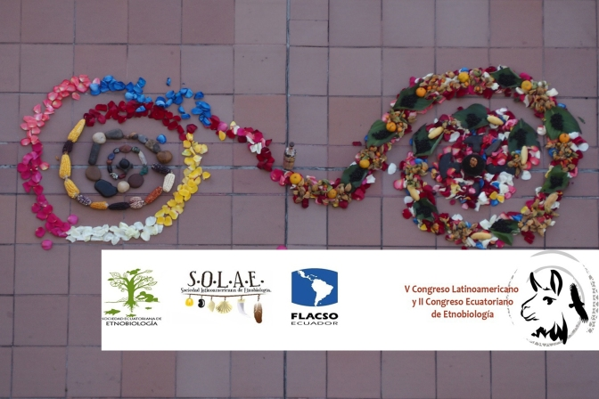Deelname aan het Etnobiologie congres in Ecuador